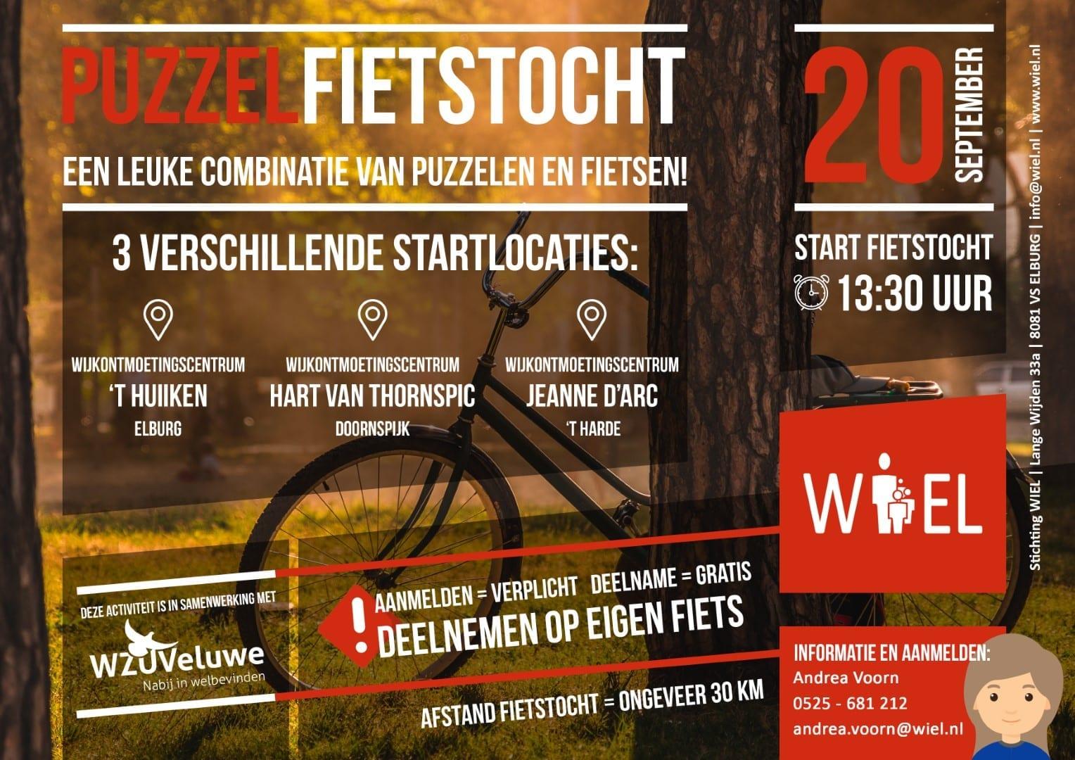 Puzzelfietstocht - Stichting WIEL