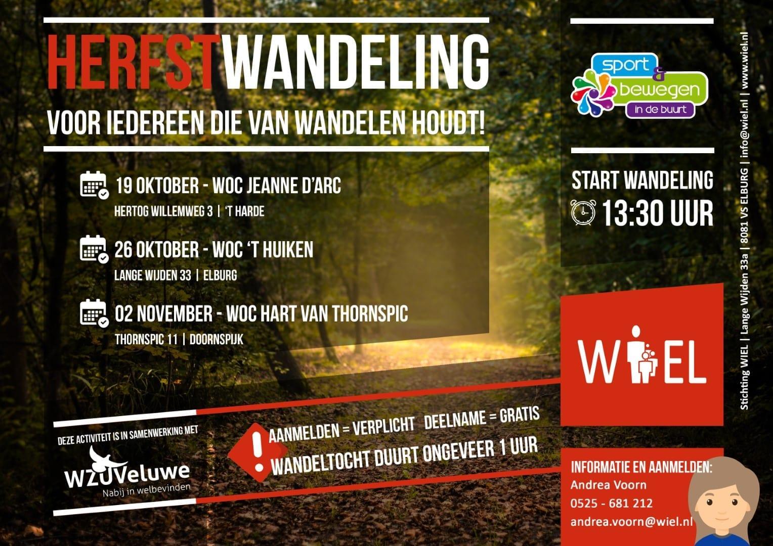 Herfstwandeling - Stichting WIEL