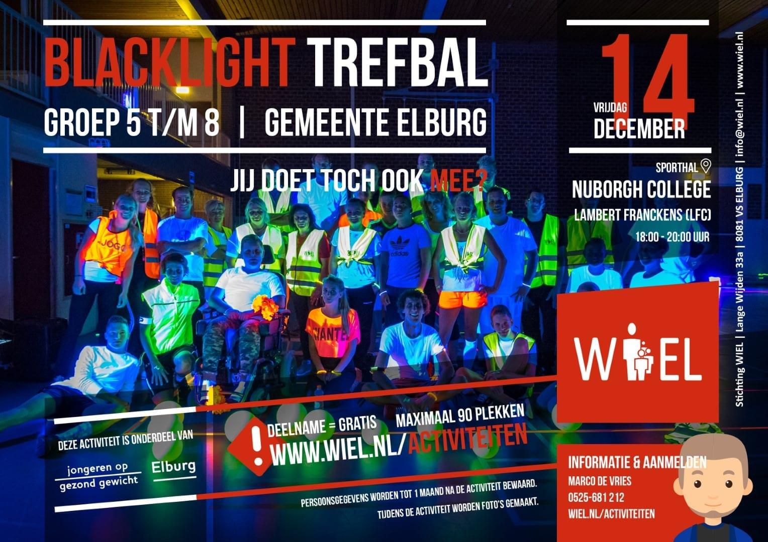 Blacklight Trefbal - Stichting WIEL