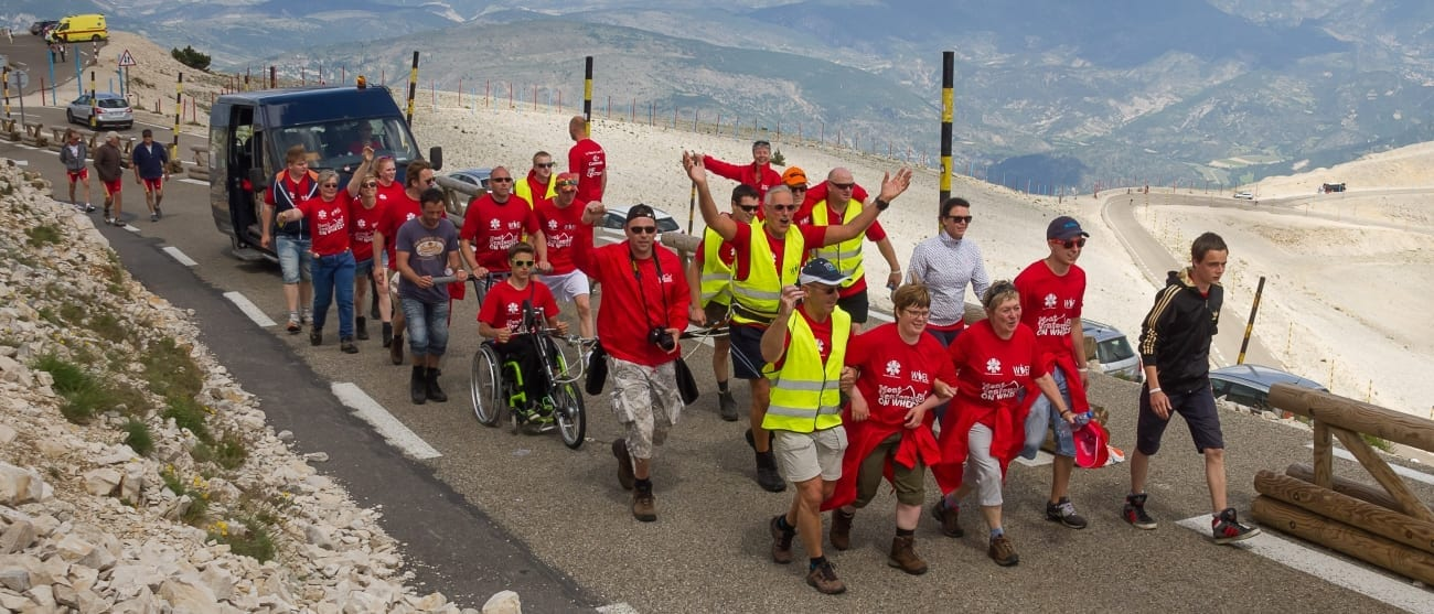 Mont Ventoux on Wheels - Stichting WIEL