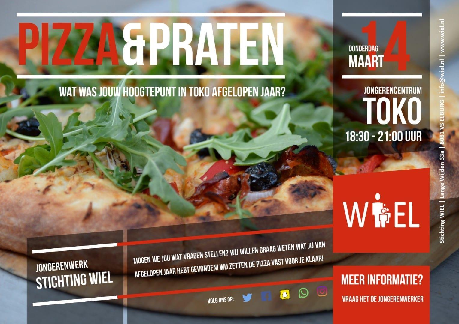 Pizza & Praten - Stichting WIEL