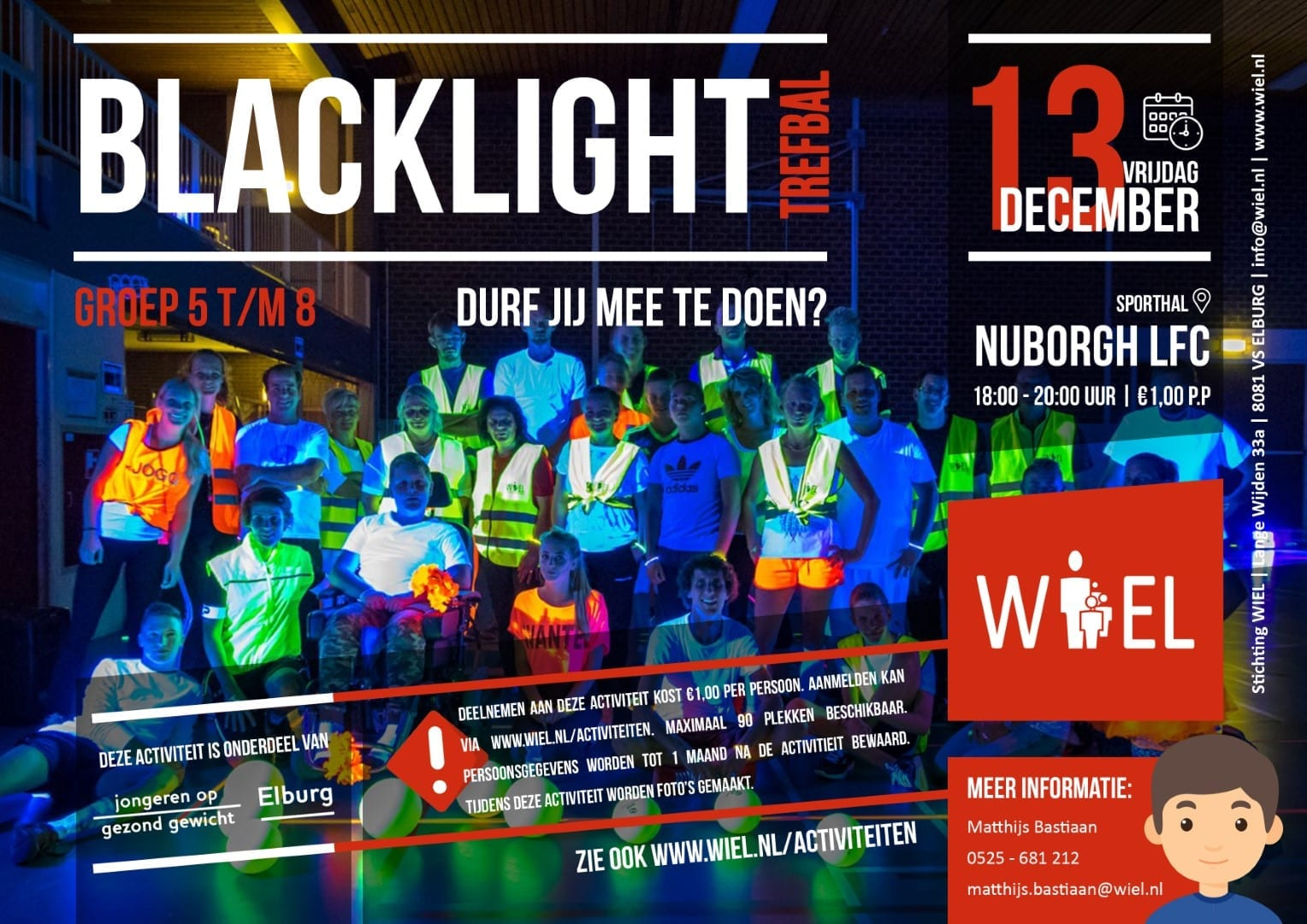 Blacklight Trefbal