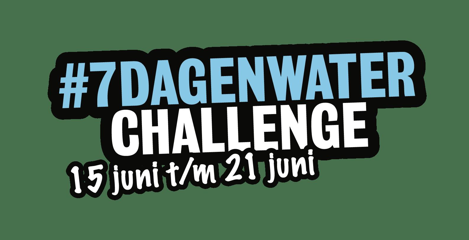 #7dagenwater challenge - Stichting WIEL